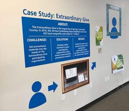 Case Study Wall