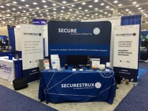 Securestrux tradeshow stand