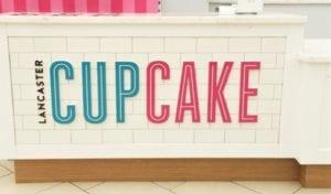Lancaster Cupcake sign
