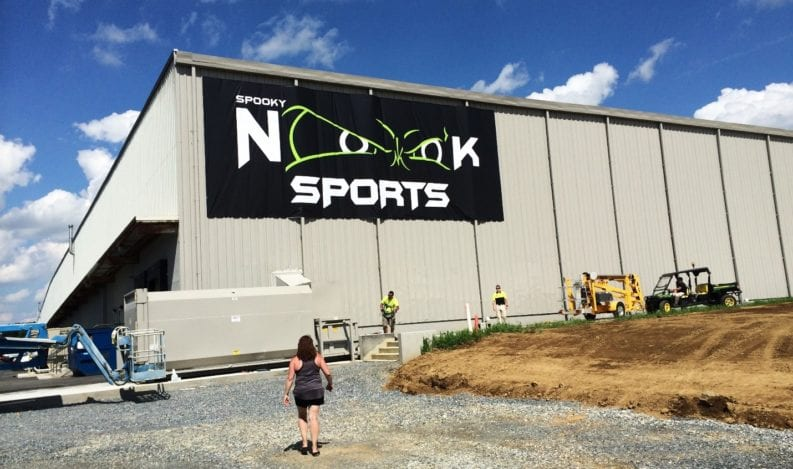 spooky nook sports banner