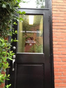 entrance to fig industries
