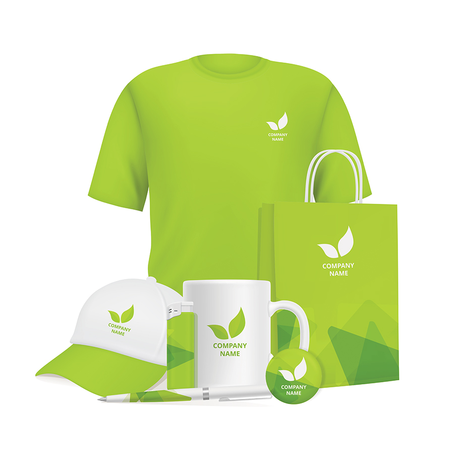 Branding design corporate souvenirs promotional items